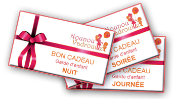 Bon cadeau Nounou Vadrouille à Bordeaux