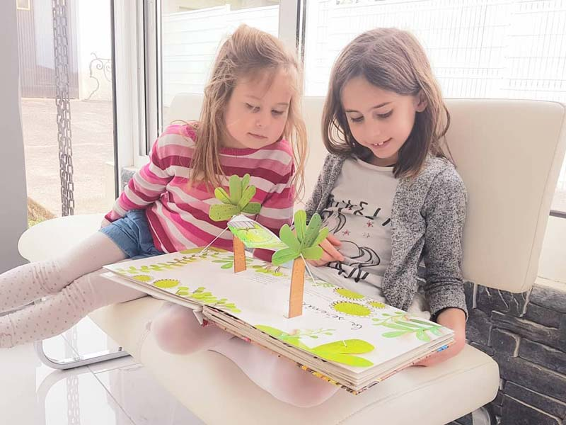 Activité avec les enfants par Nounou Vadrouille